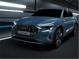 Audi e-tron animation charge and thermomanagement 2018