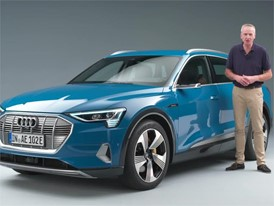 Audi e-tron presentation martin haven en 2018