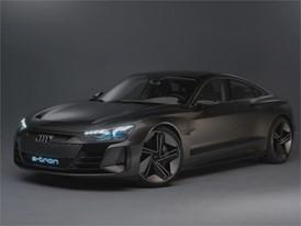 Audi e-tron GT concept Footage