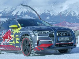 "Audi e-tron extreme: Technology demonstrator on legendary ""Streif"" Footage"