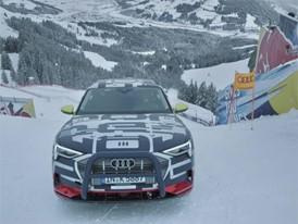 Making of: Audi e-tron Technology demonstrator on the legendary Streif