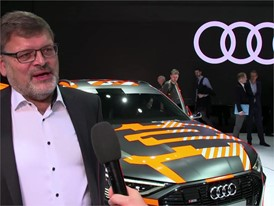 Geneva International Motor Show Interview Footage - German