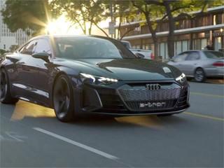 Audi e-tron-GT concept footage