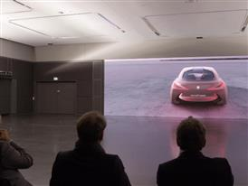 The BMW VISION NEXT 100 - Making of - Presentation on 4K screen