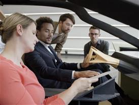 The BMW VISION NEXT 100 - Making of - Interior Design
