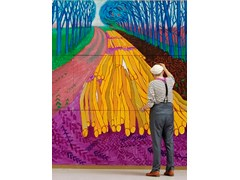 "Last 5 weeks to visit David Hockney's ""A Bigger Picture"" at the Guggenheim Bilbao Museum – New B-Roll available"