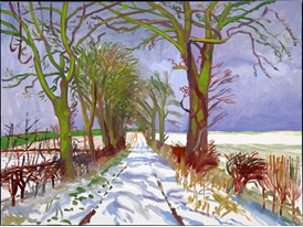Winter Tunnel With Snow (2006)