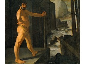 Hercules diverts the River Alfeus
