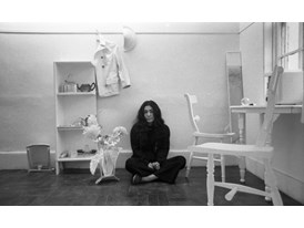 Yoko Ono Half a Room 1967