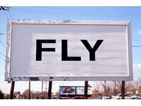 Yoko Ono Fly Billboard 1996