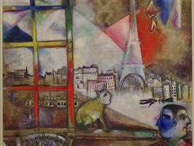 Paris-through-the-Window-(1913)-Marc-Chagall