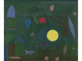 Klee-Vallmond im Garten