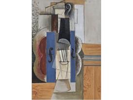 Picasso_Un violin accroche au mur