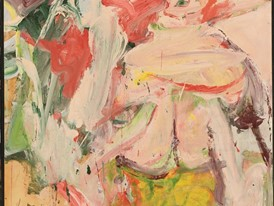 De Kooning Woman in Forest