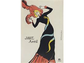 Toulouse Lautrec - Jane Avril 1899
