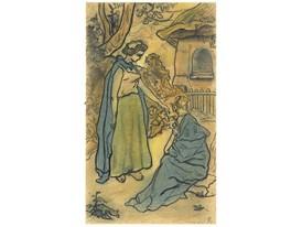 Ranson - La jeune fille et la mort 1894
