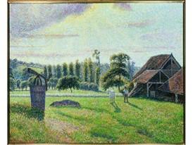 Pissarro - Briqueterie Delafolie a Eragny 1888
