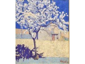 Lauge - Larbre en fleur1893