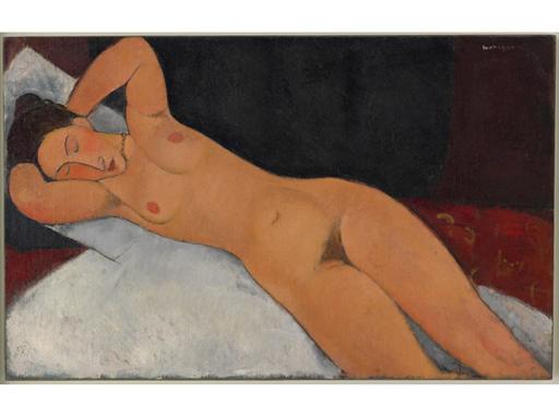 Nude-(1917)-Amedeo-Modigliani