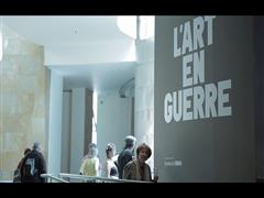 More than 260,000 people have already visited the exhibition L'Art en guerre in the Guggenheim Museum Bilbao