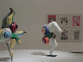 B-Roll: Niki de Saint Phalle