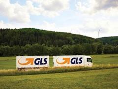 GLS steht für hochwertige Paketdienstleistung