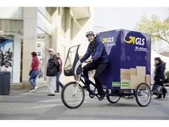 GLS in Leipzig mit dem eBike unterwegs