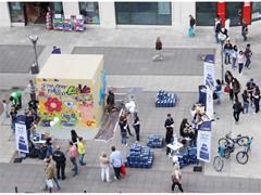 """GLS feiert """"Tag des Pakets"""" mit Street-Art-Aktion"""