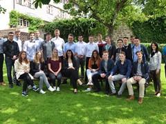 GLS begrüßt neue Auszubildende und Duale Studenten