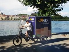 GLS Germany liefert Pakete per Fahrrad