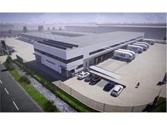 Neues GLS-Depot in Amsterdam im Bau