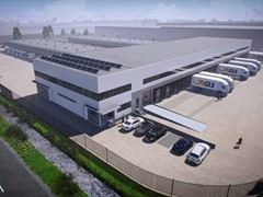 GLS eröffnet neues, nachhaltiges Depot in Amsterdam