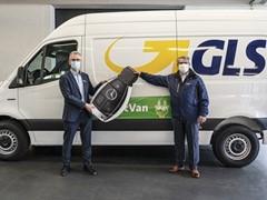 GLS stellt Pakete in Hamburg emissionsfrei zu