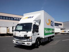 Düsseldorf: GLS setzt eLkw als City-Shuttle ein