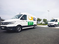 GLS now using eight eCrafter vans in Düsseldorf