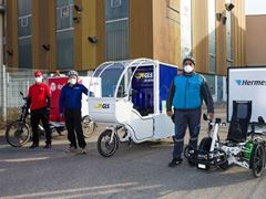 Lastenfahrrad statt Auto: Pilotprojekt zur nachhaltigen Logistik