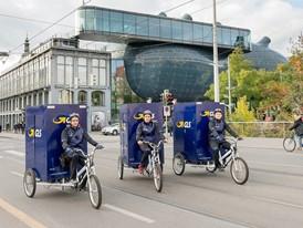 GLS eröffnet Lastenrad-Depot in Graz