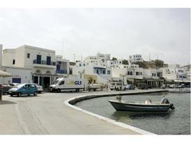 GLS bringt Filmrequisiten nach Griechenland