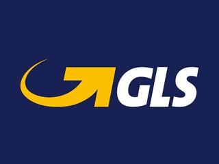 Logo GLS negativ