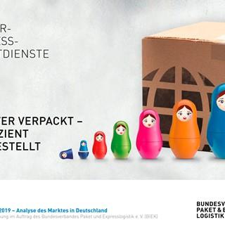 KEP-Studie 2019 – Analyse des Marktes in Deutschland