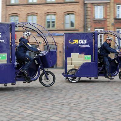 Emissionsfreie Zustellung in Flensburg