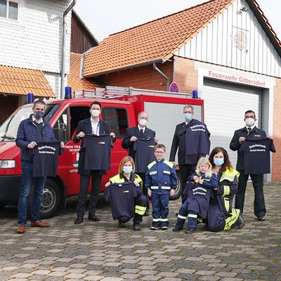 GLS unterstützt Feuerwehr-Nachwuchs