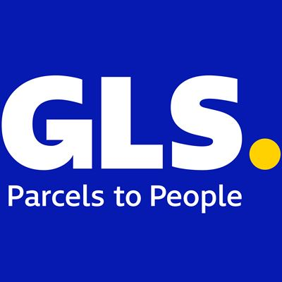 GLS Logo - Blue background