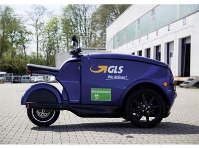 GLS testet eScooter in Dortmund