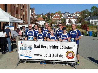 GLS-Teams beim Lollslauf am Start