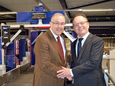 GLS weiht ausgebautes Depot Rotterdam ein
