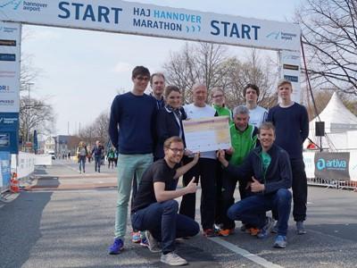 GLS unterstützt Spendenlauf zum Nordkap