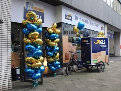 GLS eröffnet PaketShop mit City-Depot