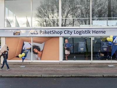 GLS PaketShop und City-Depot in Herne eröffnet