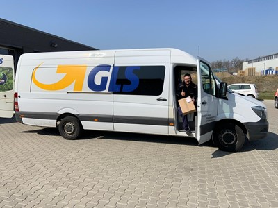 GLS supports German Red Cross